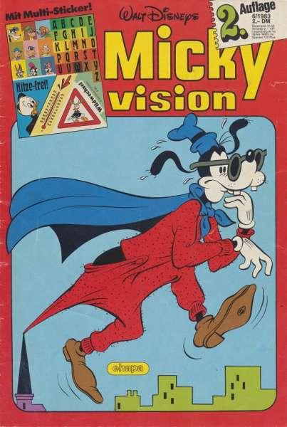 Mickyvision 2.Auflage Heft Nr. 6/1983
