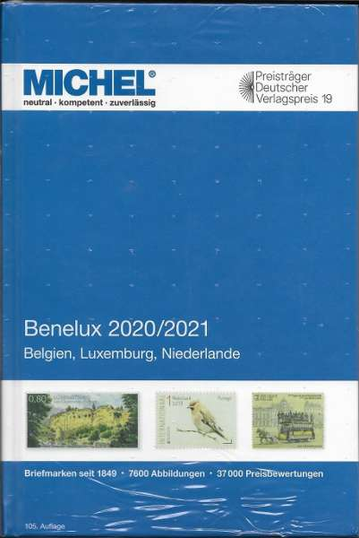 MICHEL BENELUX-KATALOG 2020/2021 (E 12)