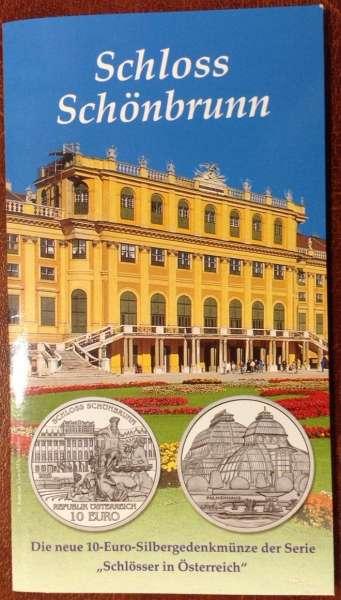 10 Euro Silber 2003 Schloss Schönbrunn HgH ANK Nr.04