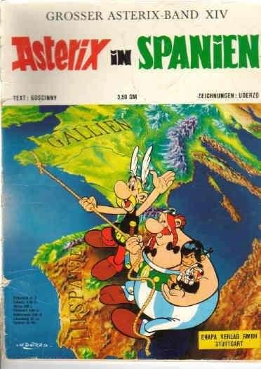 Asterix Nr 14 Asterix in Spanien