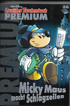 LTB Premium Band 26 Micky Maus macht Schlagzeilen