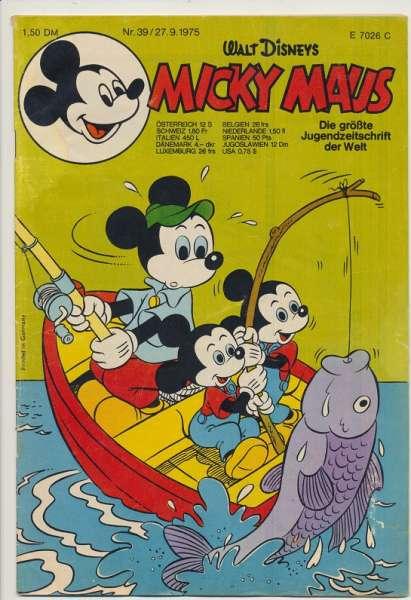 Micky Maus Nr. 39/1975
