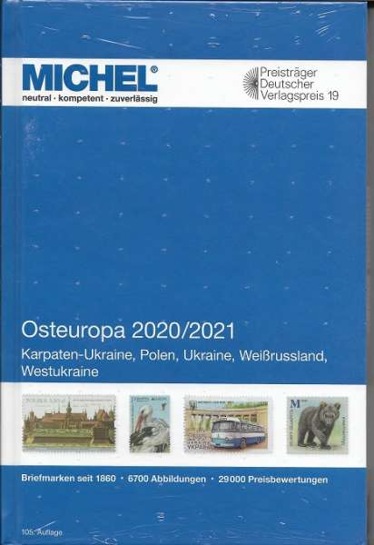 MICHEL OSTEUROPA-KATALOG 2020/2021 (E 15)