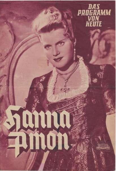 Hanna Amon Nr. 74 Das Programm von Heute