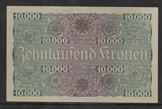 1 Schilling 10000 Kronen 2.1.1924 Pick 87 Ank 210 Nr 1041 243078