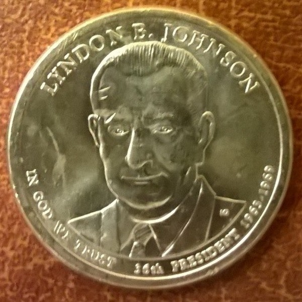 USA 1 Dollar 2015 D Lyndon B. Johnson (36)