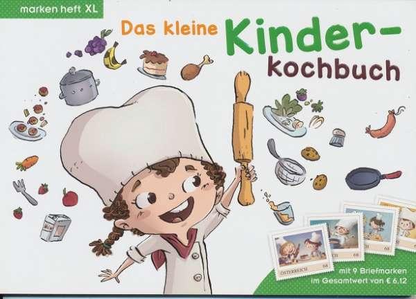 Marken Heft XL Das kleine Kinder Kochbuch mit 9 Marken
