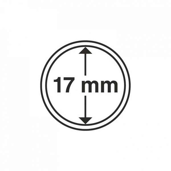 MÜNZKAPSELN CAPS 17 MM, 10 ER PACK