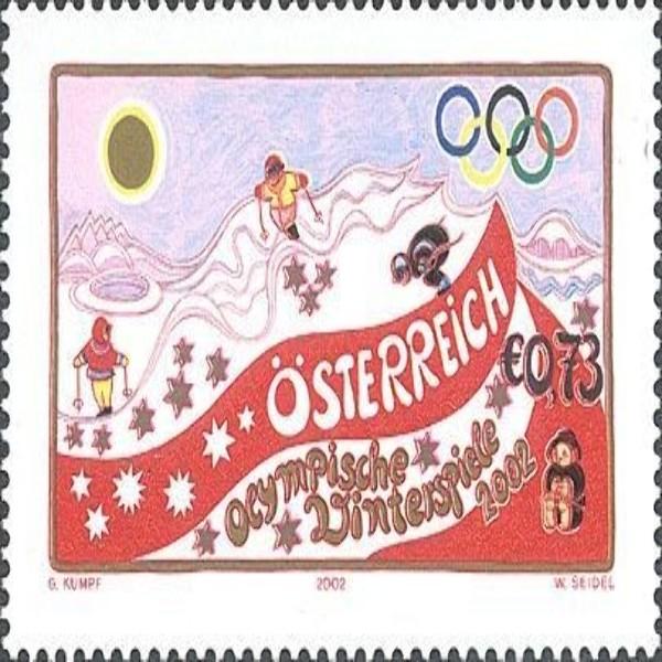 ANK 2403 Olympische Winterspiele 2002 0,73 € **