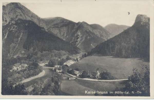 Kaiserbrunn im Höllental Niederösterreich