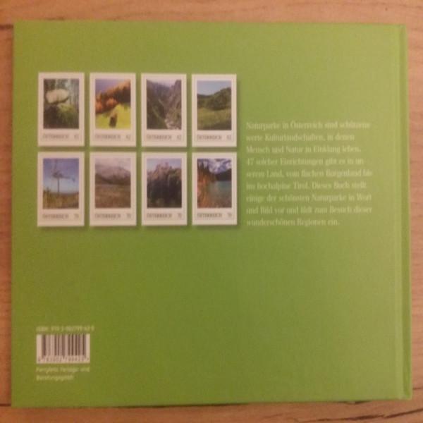 Briefmarkenbuch Naturparke in Österreich mit 8 exklusiven Marken