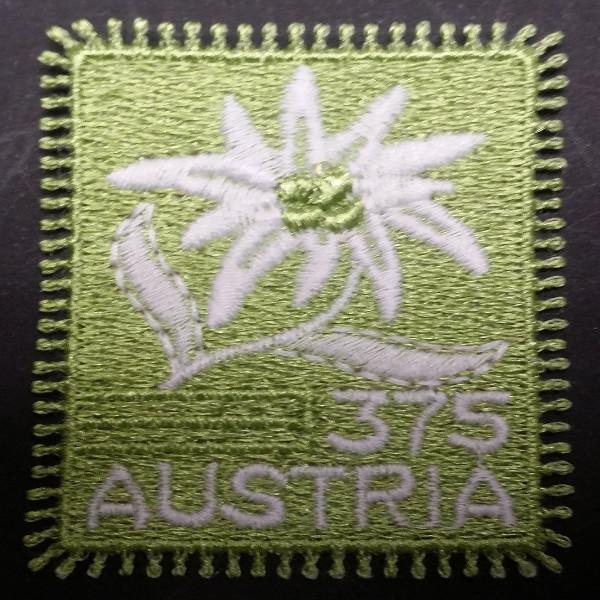 Österreich ANK 2572 ** Edelweiß Stoffmarke 2005 - 3,75 Euro Postfrisch