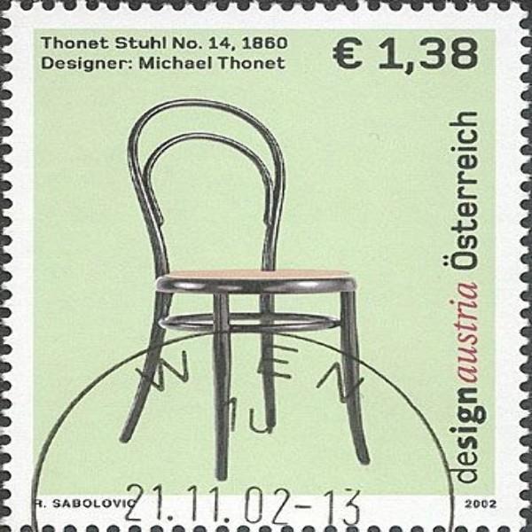ANK 2420 Design Austria - Thonet - Sessel 1,38 €** 2002