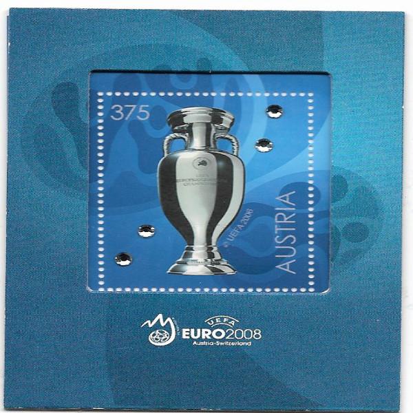 Austria Österreich UEFA Euro 2008 SWAROVSKI 2008 ANK 2779 Postfrisch