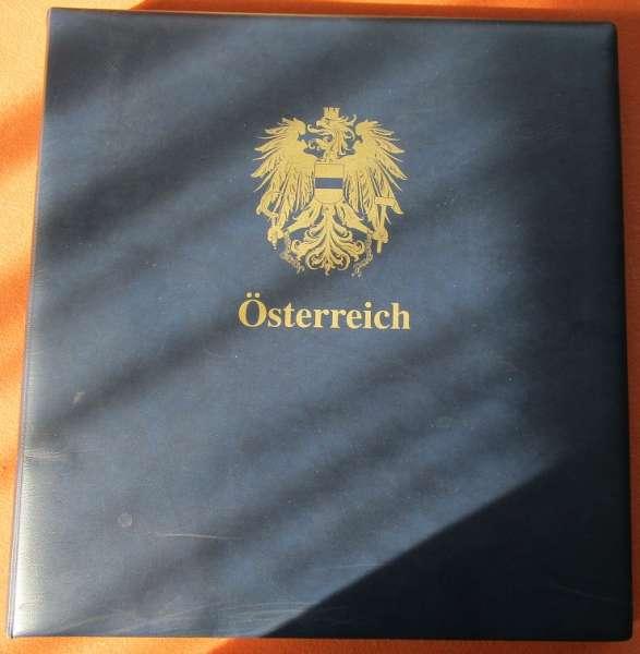 Safe Dual Album Österreich Nachtrag 2000-2005 gebraucht Seite 172 bis 200+Kleinbögen Dunkelblau