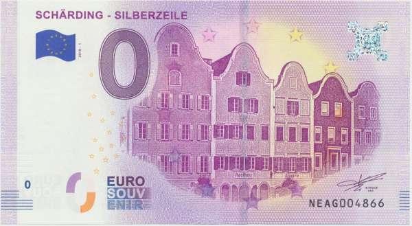 0 Euro Schein 2018-1 Schärding Silberzeile - Unc ANK.Nr.13