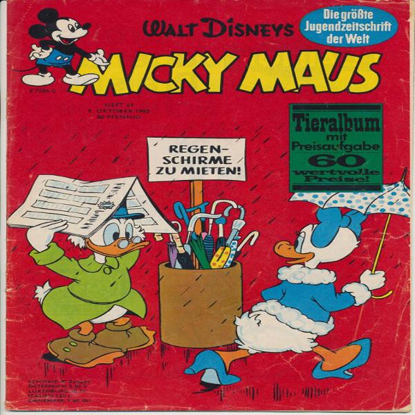 Micky Maus Nr. 41 /1965