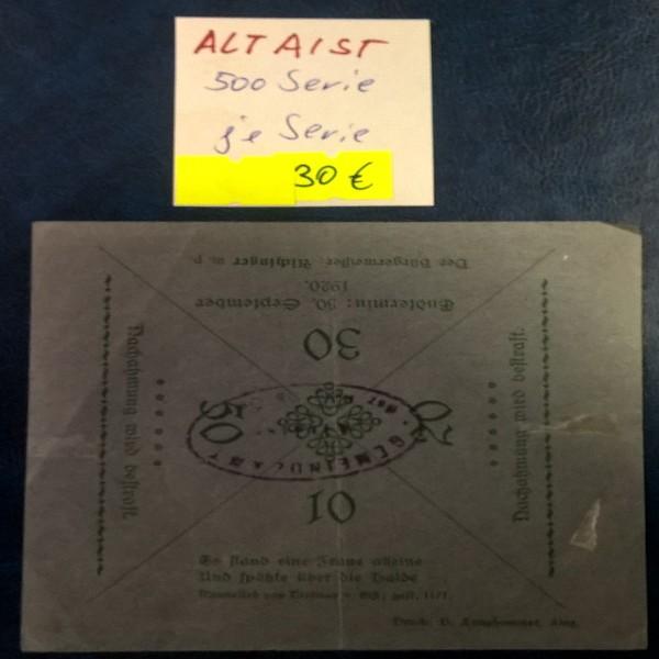 Altaist (OÖ) Auflage 500 Grau