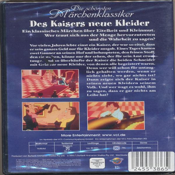 Die schönsten Märchenklassiker Des Kaisers neue Kleider DVD
