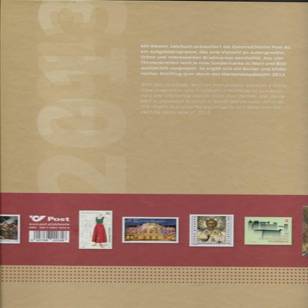 Marken Jahrbuch der Post 2013 Österreich