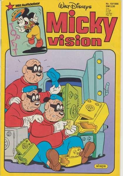 Mickyvision Heft Nr. 10/1986