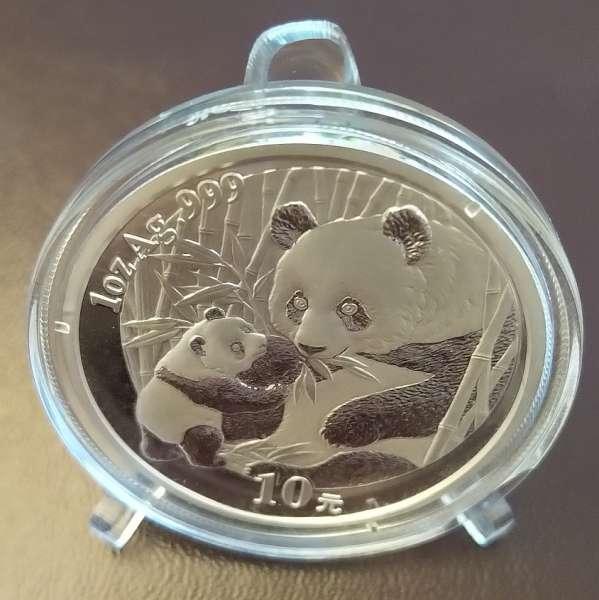 China 10 Yuan 2005 Panda 31,1g 1 Oz Silber Unze