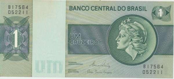 Brasilien- 1 Cruzeiro 1980 UNC - Pick 191c