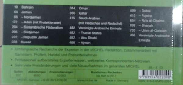 Michel Übersee Katalog Nr.10 Teil 2 Süd und Zentralarabien 2017