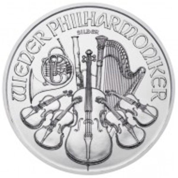 Wiener Philharmoniker 1 Unze Feinsilber (999) Osteredition 2017