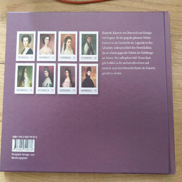 Sisi Legende und Wahrheit mit 8 exklusiven Marken Briefmarkenbuch