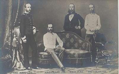 Kaiser Franz Josef & Karl & Max. &Lud. Victor