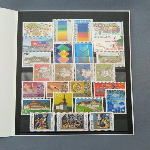 Liechtenstein 1998 Jahresmappe postfrisch