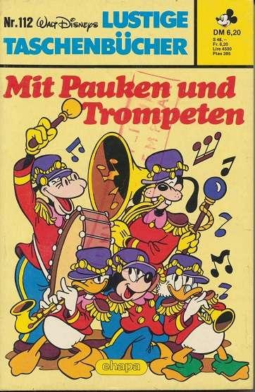 LTB Band 112 Mit Pauken und Trompeten auf eckiges Logo oben
