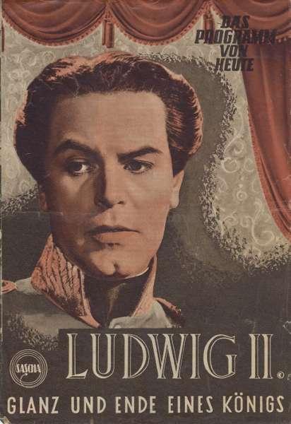 Ludwig II Glanz und Ende eines Königs Nr.385-1955 Das Programm von Heute