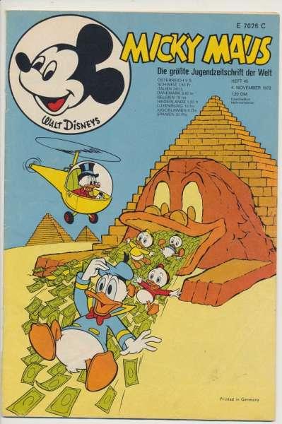 Micky Maus Nr. 45/1972