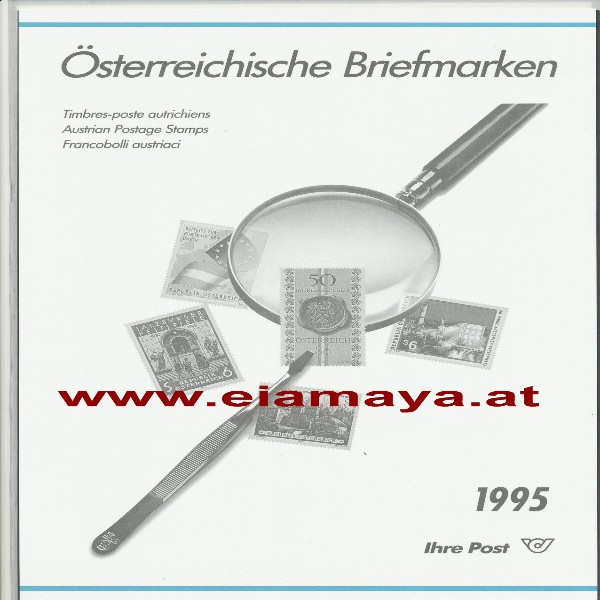 Jahreszusammenstellung der Post 1995