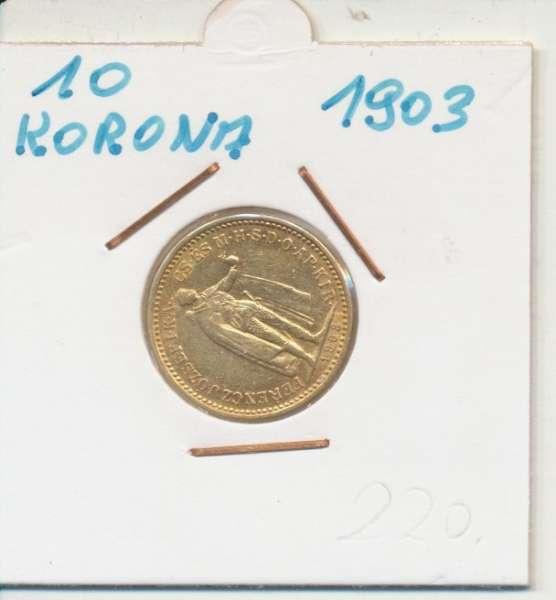 10 Korona 1903 KB Franz Joseph I Gold