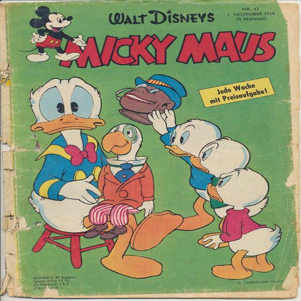 Micky Maus Nr.43 / 1958