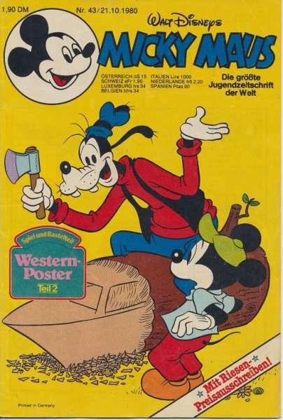 Micky Maus Nr. 43/1980