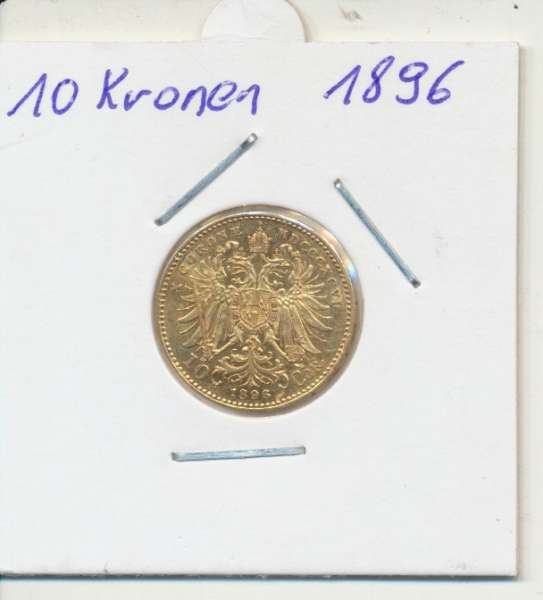 10 Kronen 1896 Franz Joseph I Gold