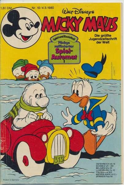 Micky Maus Nr. 10/1980