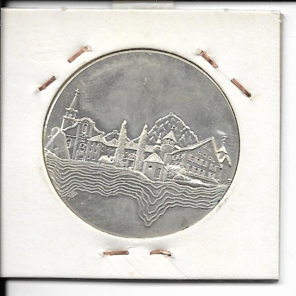 Hohenems Silber Medaille