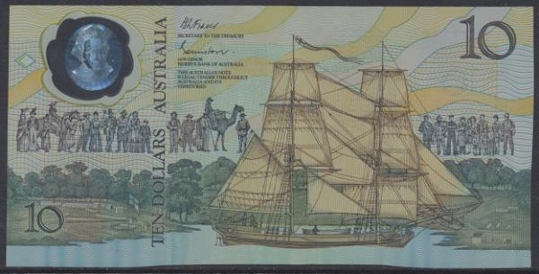 Australien – 10 Dollars (1988) (P.49) Erh. UNC