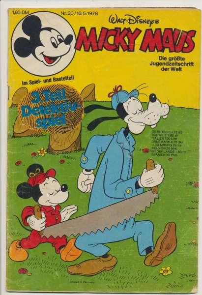 Micky Maus Nr. 20/1978