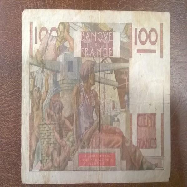 100 Francs 6.9.1951