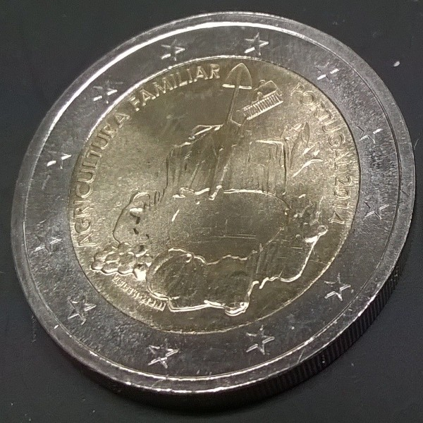 2 Euro Portugal 2014 Landwirtschaft