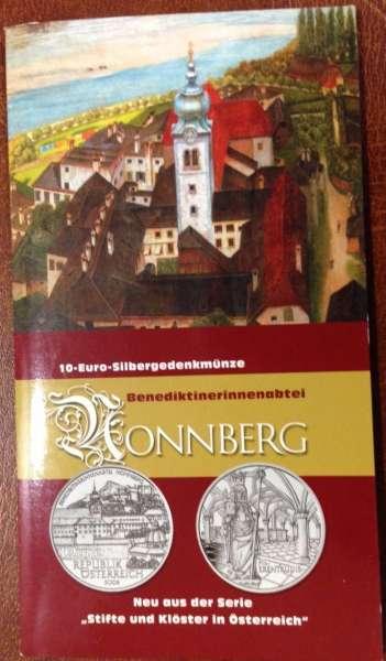 10 Euro Silber 2006 Stift Nonnberg HgH ANK Nr. 09
