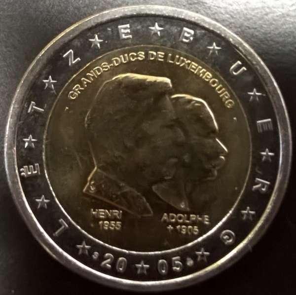 2 Euro Luxemburg 2005 Großherzöge