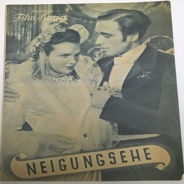 Illustrierter Film - Kurier Neigungsehe