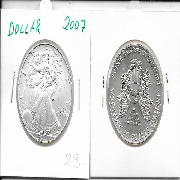 1 Dollar Silber Eagle Unze 2007